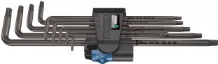Wera 05024450001 967/9 TX XL HF 1 Long L-key Set With Holding Function